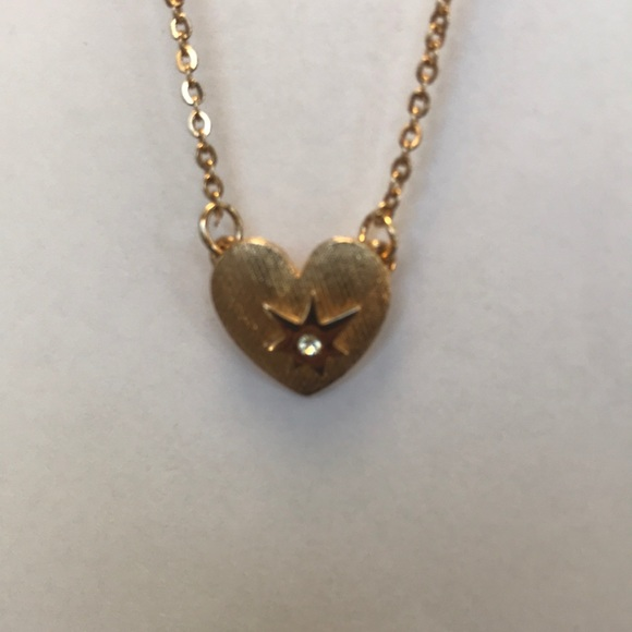 Sarah Coventry Jewelry - heart necklace fashion